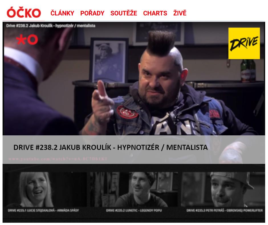 DRIVE TV SHOW: Rozhovor s hypnotizérem